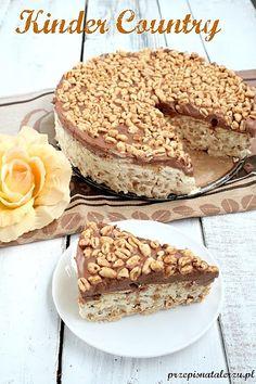 Składniki: 350 ml śmietany 250 g serka mascarpone Sweet Recipes, Cake Recipes, Snack Recipes, Cooking Recipes, Food Cakes, Good Food, Yummy Food, Sweet Cakes, Relleno