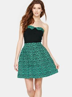 The Styling Up stylists recommend: Criminal Damage: Double Leo Dress, Green