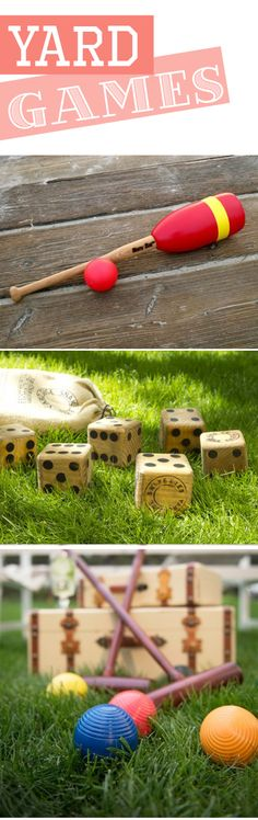 Fun outdoor games :: yard games