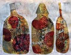 The Old Cells Studio - Michèle Brown Art: Tightly bottled turmoil