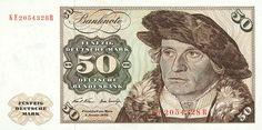 50 Deutsche Mark 1970 (Holstentor), Deutschland