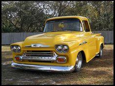 1958 Chevrolet 3100 Pickup #Mecum #Kissimmee #WhereTheCarsAre