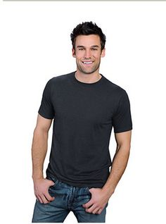 Blank Men's Hemp T- Shirt with Color & Size Choices by Onno Textiles #Onno #BasicTee