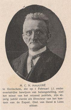 Jubileum (40 jaar) M.C.N. Maquine directeur Gend en Loos   by Barry van Baalen