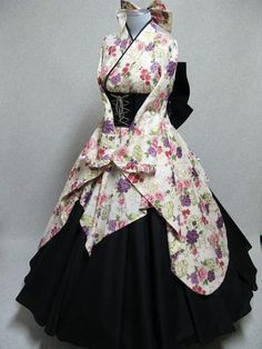 japanese inspired gothic kimono dress - #dress #gothic #inspired #JAPANESE #kimono
