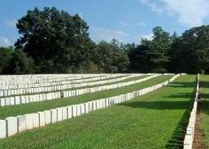 Located adjacent to Andersonville National Historic Site, the Andersonville National Cemetery contains the graves of [Union soldiers] of the prison's dead. Andersonville Prison, National Cemetery, Prisoners Of War, World History, Historical Sites, Soldiers, Places Ive Been, Georgia, United States