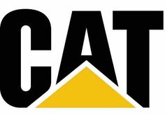 Caterpillar logo in its shortened form, solid, no-nonsense logo.