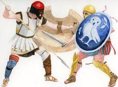 hoplimachie by Hussard-illustration