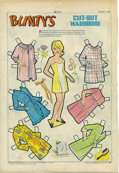 Cartoon Paper, Bad Drawings, Dress Up Dolls, Vintage Paper Dolls, Childhood Toys, Retro Toys, Toot, Free Paper, Art Pages