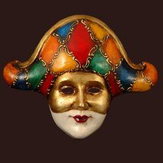 Commedia dell Arte masque. Venice. 1490