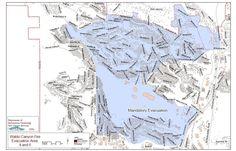 Mandatory Evacuation Map just sent to us by Colorado Springs