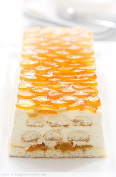 Tiramisù aux kumquats confits et Grand Marnier - Candied Kumquat Tiramisu Kumquat Recipes, Fruit Recipes, Sweet Recipes, Dessert Recipes, Cupcakes, Cupcake Cakes, Just Desserts, Delicious Desserts, Yummy Food