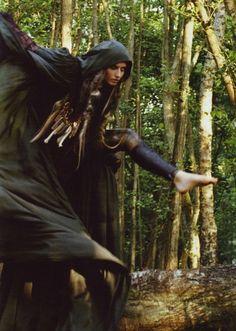 Dark faery dance