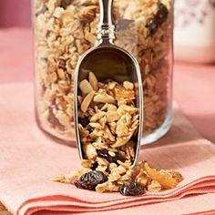 Apricot-Almond Granola | MyRecipes.com #myplate #grain #fruit