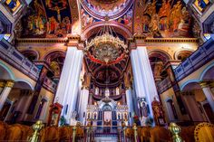 / The Agios Minas Cathedral, Heraklion, Crete, Greece by Joe Daniel Price Kremlin Palace, Moscow Metro, Heraklion, Greek Culture, Cruise Travel, Big Ben, Barcelona Cathedral, Crete Greece, Building