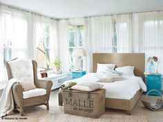 1000 images about bord de mer deco on pinterest for Chambre blanc et taupe