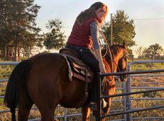 #Carhartt Women's Norfolk Henley, Marlinton Vest, & Carhartt Women's Jasper Jeans