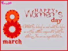 Happy Women's Day everyone