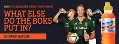 Win tickets to the Bok test at FNB   Front Row Grunt