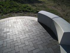 Elementer fra Cirkelserien anvendt til terrasse Aarhus, Sidewalk, Patio, Outdoor Decor, Design, Home Decor, Decoration Home, Room Decor, Side Walkway