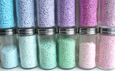Custom Colored Sprinkles for your cakes and cookies - super easy technique!