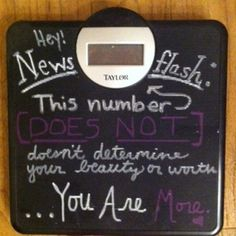 Couldn't agree more! I hate the scale. I'm happiest when I feel healthiest, not when I weigh the least!