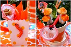 Colorful + Fun Bug Birthday Party!   Pizzazzerie