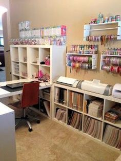 24 Craft Room Paper Storage Ideas | Paper storage, Storage and Room