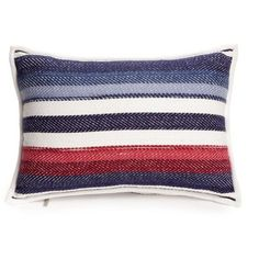 Tommy Hilfiger Multi Grasslands Dec Pillow 12X18 featuring polyvore home home decor throw pillows multi floral throw pillows blue accent pillows tommy hilfiger inspirational throw pillows red home decor