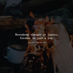 Everybody changes or leaves forever is just a lie. via (http://ift.tt/2n50ebu)