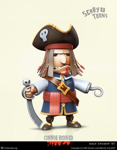 3D Pirate Character