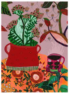 Kitchen table - still life 2 Monika Forsberg- Walkyland