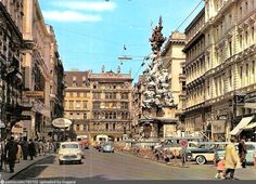 Austria, Past, Old Things, Street View, History, City, Photography, Volkswagen, 1960s