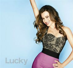 Sofia Vergara chats with Lucky magazine about her curvaceous bod and more. Get the scoop on Wonderwall. http://on-msn.com/SWTf0n