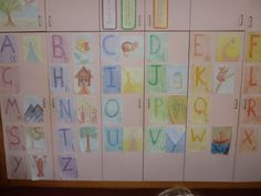 Waldorf ~ 1st grade ~ Letters