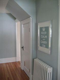light blue grey paint