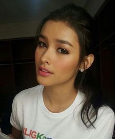Don't forget to vote at… Liza Soberano, Simply Beautiful, Beautiful Women, Beauty Makeup, Hair Makeup, Celebs, Celebrities, Woman Crush, Pretty People