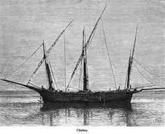 "Xabec  - illustr. from ""Die Balearien"" by l'Arxiduc Luis Salvador d'Austria, ca. 1870-80"