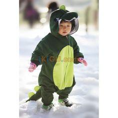 Dinosaur Onesie   Dinosaur Baby Kigurumi   Dinosaur Baby Costume - Baby Onesies http://www.ikigu.com/dinosaur-baby-kigurumi.html