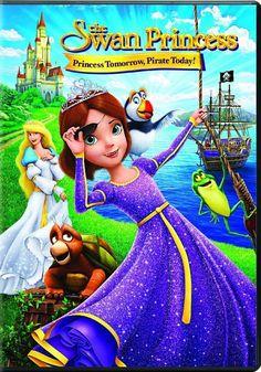The Swan Princess: Princess Tomorrow Pirate Today! #filmi