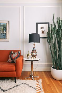 living room colors: A Spanish-Style Home in San Francisco That Balances Function and Beauty