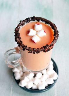 pumpkin pie hot cocoa!
