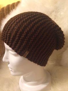 Brown woollen hat made by Strickgräfin - for Men and Women! Hat Making, Beanie, Wool, Brown, Men, Fashion, Scarf Knit, Head Bands, Scarves