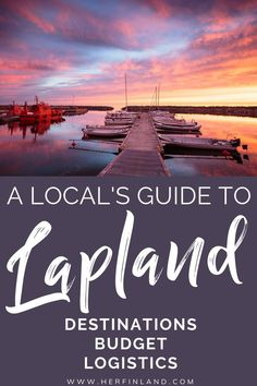 This article tells you all about Lapland and how to plan your dream vacation there! It includes my local's tips about Lappish destinations, budgeting your trip, locistics and eco travel. Click and dive in! Road Trip Europe, Europe Travel Guide, Travel Guides, Finland Destinations, Travel Destinations, Lapland Holidays, Alaska, Finland Summer, Scenic Train Rides