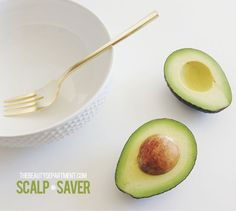KITCHEN BEAUTICIAN: SCALP REMEDY Just apply this mixture after shampooing and let it penetrate for 10 minutes  Avocado Argan oil Honey Tea tree oil