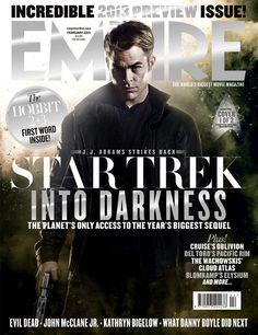 Empire magazine, Star Trek into Darkness (cover featuring Chris Pine Zachary Quinto, Benedict Cumberbatch, The Wachowskis, Movie Magazine, Geek Magazine, Werner Herzog, Empire, New Star Trek, Cloud Atlas