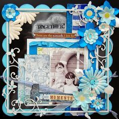 Lots of beautiful layouts, altered art and some videos on how to.