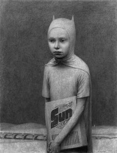 """""""flans from hell"""" American artist Aron Wiesenfeld's drawings using pencil and charcoal."""