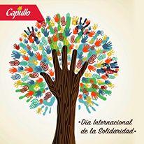 """""""La solidaridad no es un sentimiento superficial, es la determinación firme y perseverante de empeñarse por el bien común, es decir, el bien de todos y cada uno; para que seamos realmente responsables de todos"""". (Juan Pablo II)"""