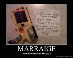 Who says Marriage has to be serious?